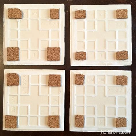 make your own diy photo tile coasters spotted
