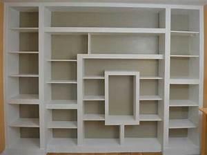 Grande Bibliothèque Murale : fabriquer une biblioth que personnalis e ~ Teatrodelosmanantiales.com Idées de Décoration