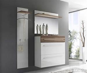 Schuhschrank Mit Garderobe : garderobe finja 135x180 weiss hochglanz walnuss schuhschrank spiegel neu ebay ~ Indierocktalk.com Haus und Dekorationen