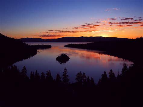 emerald bay lake tahoe sunrise  photo  flickriver
