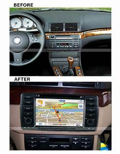 BMW E46 Autoradio DVD GPS, BMW M3 Radio DVD TV Bluetooth
