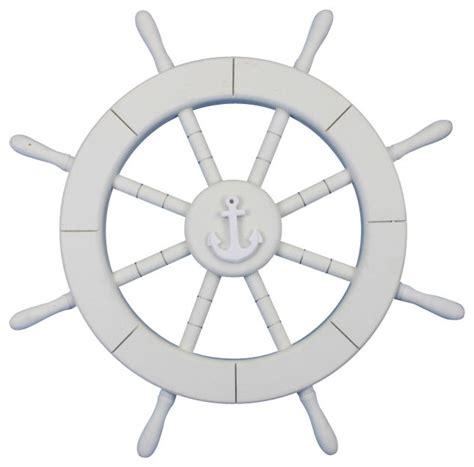 sailboat wheel wall decor decorative ship wheel white 18 quot style