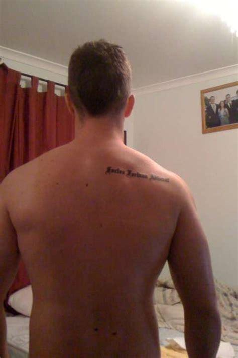 fortes fortuna adiuvat tattoo