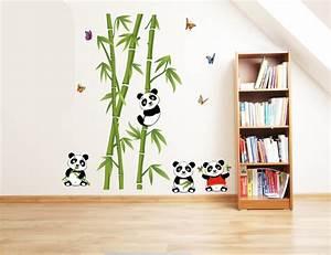 Aliexpresscom : Buy New Cute Panda Bamboo Large Wall ...