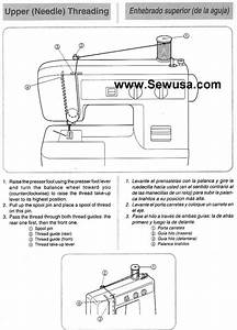 Brother Vx 1120 Sewing Machine Threading Diagram
