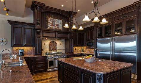 gourmet kitchen islands extraordinary home of the week luxury view home in auburn 1276