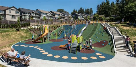 slides for toddlers queenston park coquitlam designed installed by