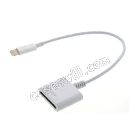 high quality to 30 pin adapter cable for iphone 5 ipod