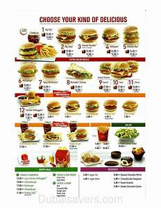 McDonald's Dubai Offers, Menu, location, timings and ...