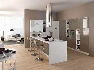 Cucina con penisola tutti i vantaggi cucine moderne for Cucina piccola con penisola