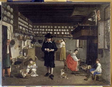 Kitchen Equipment Netherlands by A Kitchen Wolfgang Hembach On Canvas 1648