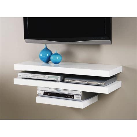 rak tv dvd dinding minimalis unik  ikea portable putih