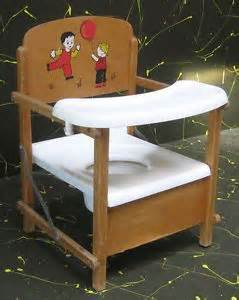 Wooden Potty Chairs by Vintage Childs Kids Wooden Folding Chair Step Stool By Nu