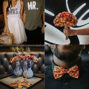 getting married at your favorite fast food joint is With taco bell wedding dress