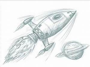 Cool Space Rocket Drawing with Legs - Pics about space