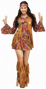 Buy Adult Peace and Love Hippie Costume