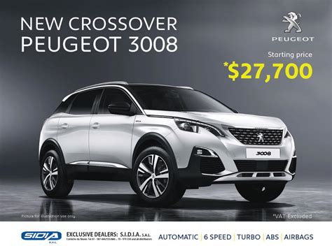 Peugeot Crossover by Peugeot Crossover 3008 Cars Peugeot Lebanon