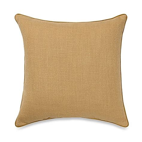 bed bath and beyond sofa pillows buy teena throw pillow in gold from bed bath beyond