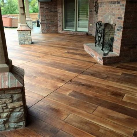 stained concrete wood fort wayne indiana supremecrete