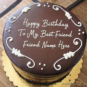 Write name on Best Chocolate Birthday Cake For - image ...