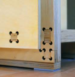 Plywood CNC Furniture Joints