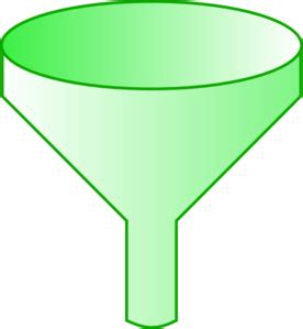 Funnel Clipart Green Funnel Clip At Clker Vector Clip