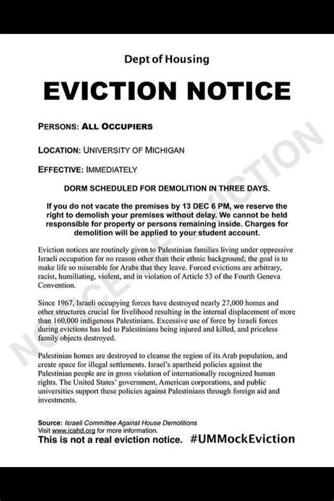 eviction notice real estate forms