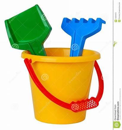 Bucket Clipart Toys Plastic Toy Beach Sand