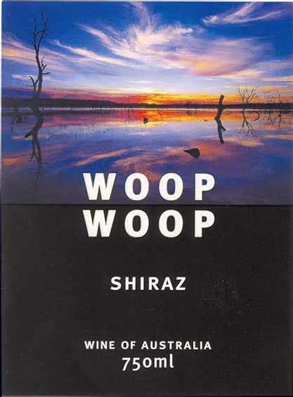 woop woop shiraz epicurean wines