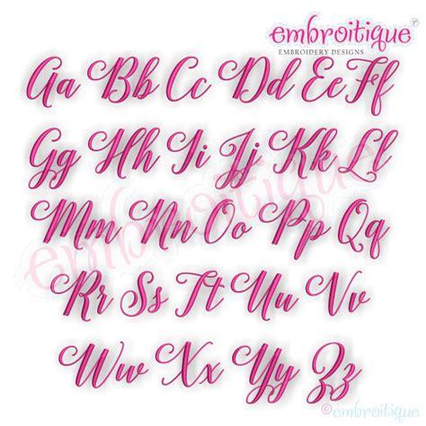 year created  victoria large fancy calligraphy script monogram alphabet