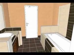Badplanung Kleines Bad : 3d badplanung kleines bad youtube ~ Michelbontemps.com Haus und Dekorationen