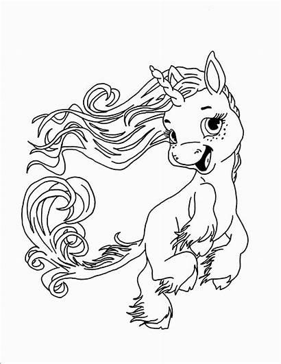 Unicornio Colorir Bebe Unicorn Coloring Printable