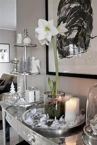 Tischdeko Weihnachten Silber : weihnachtsdekoration in wei schwarz und silber weihnachtsdekoration ~ Watch28wear.com Haus und Dekorationen
