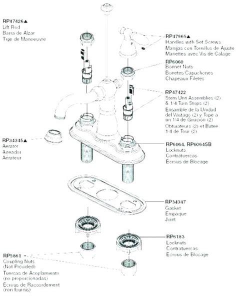 Bathroom Faucet Parts Names by Kitchen Faucet Parts Names Wow