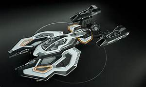 Spaceship 3D concept design 3D Model animated rigged .max ...