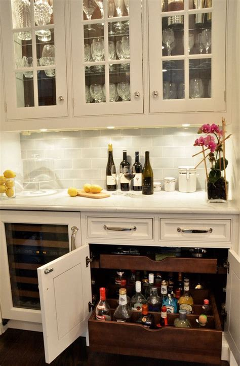 Small Bar Cabinet Ideas by Best 25 Bar Cabinets Ideas On Built In