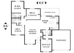 single story house plans without garage 1766 house plan information