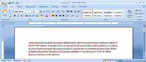 Microsoft Word 2007 Interface