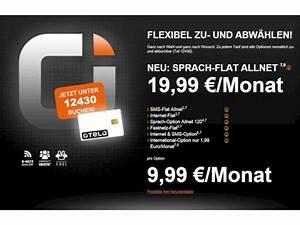Otelo Internet Flat : otelo startet allnet flat f r 19 99 euro ohne datenpauschale news ~ Yasmunasinghe.com Haus und Dekorationen