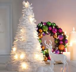 fanciful white feathers christmas tree 3 everything feathers the feather girl