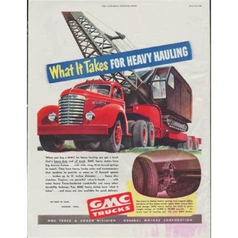 retro retail stores 1948 gmc trucks vintage ad quot what it takes quot 1948
