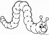 Caterpillar Coloring Pages Cartoon Printable Drawing Wonderland Alice Cool2bkids Template Colouring Sheets Butterfly Caterpilla Getdrawings Animal Simple Getcolorings Sketch Results sketch template