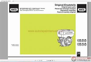 Hatz Diesel 1b20 1b30 Parts Manual