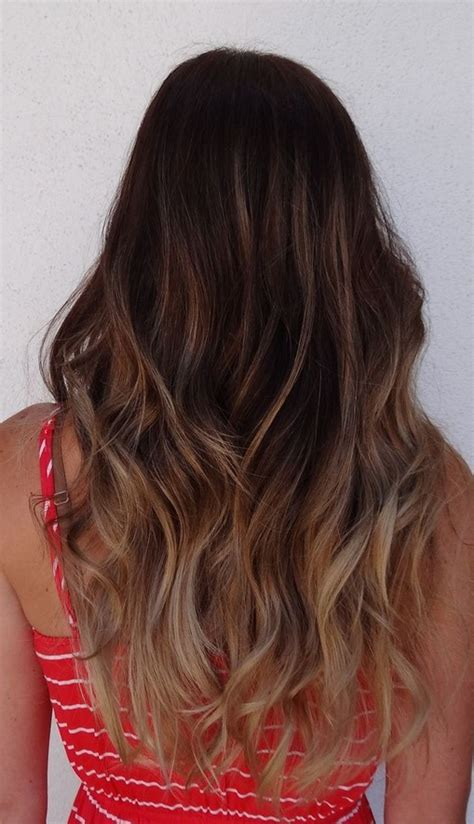 dark brown hair with light brown ombre hottest ombre hair color ideas trendy ombre hairstyles