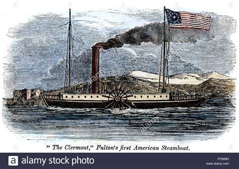 Steamboat Fulton by Robert Fulton S Clermont Nrobert Fulton S Steamboat
