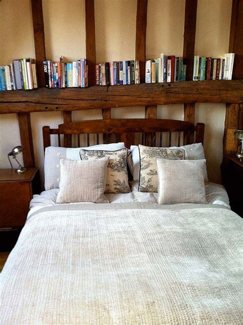headboard storage ideas   bedroom