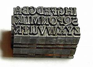 set of metal letter stamps for polymer clay alphabet a to z With metal letter stamps