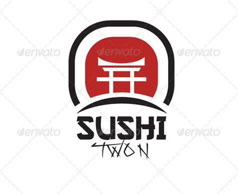 sushi logo japanisches restaurant logo