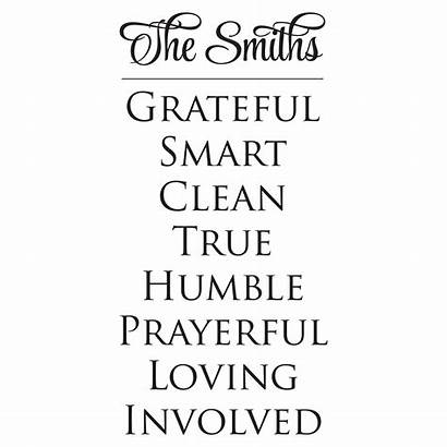 Quotes Rules Faith Wall Decal Custom Wallquotes