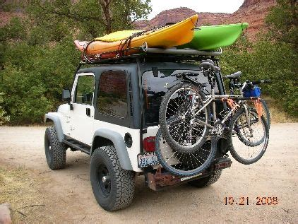 jeep kayak rack kayak rack for jeep search now that s what i want
